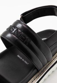 Bogner - ALICANTE  - Korkeakorkoiset sandaalit - black - 2