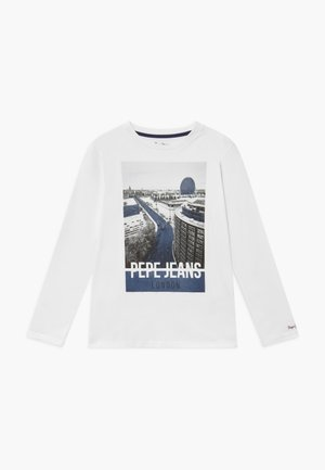 CHANDLER - Langarmshirt - optic white