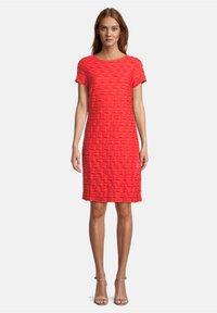 Betty Barclay - Jersey dress - poppy red - 1