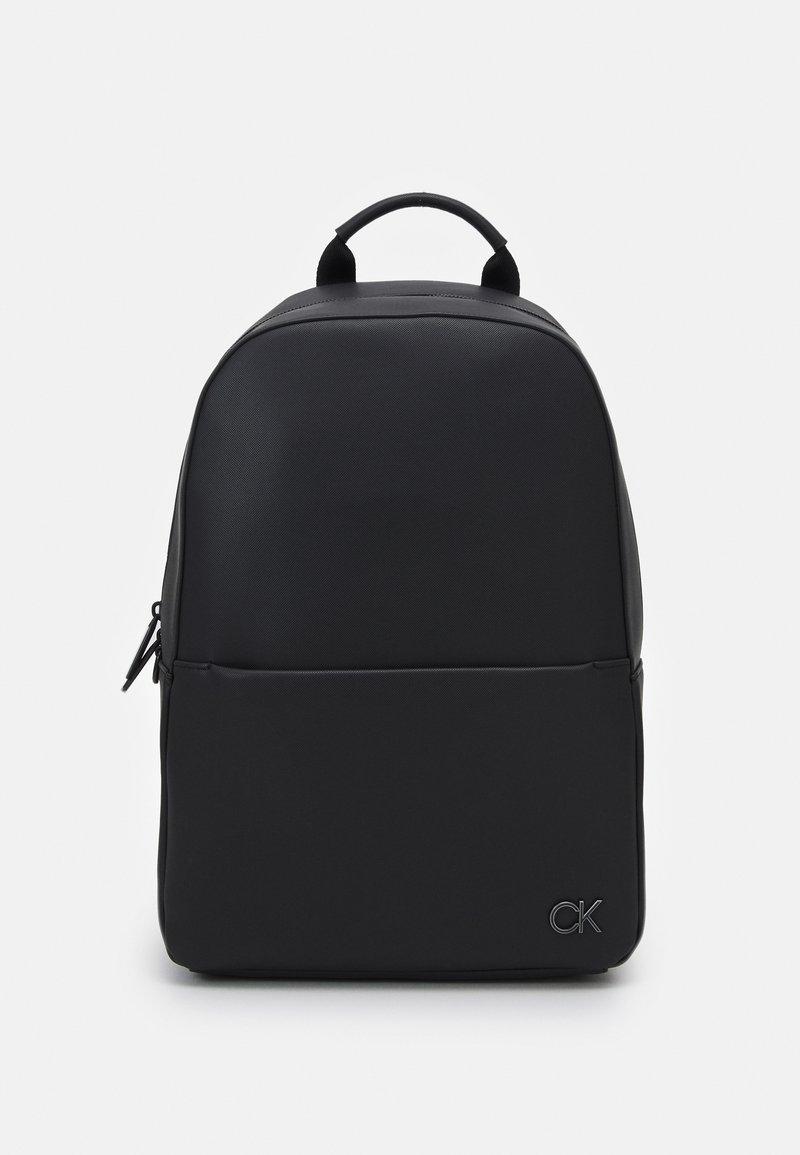 Calvin Klein - ROUND UNISEX - Rucksack - black