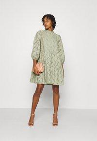 YAS - YASNADINE DRESS - Day dress - shadow - 1