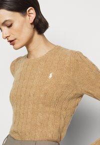 Polo Ralph Lauren - JULIANNA  - Jumper - luxury beige heat - 4
