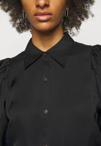 DESIGNERS REMIX - EMME SLEEVE - Button-down blouse - black - 5