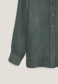 Massimo Dutti - Button-down blouse - green - 5
