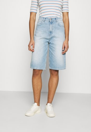 BAY BERMUDA - Shorts di jeans - light waterblue