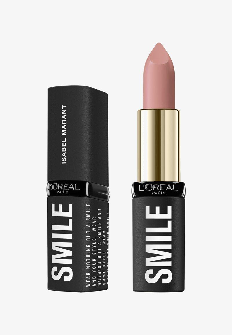 L'Oréal Paris - ISABEL MARANT SMILE LIPSTICK - Lipstick - 06 la seine shadow