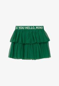 Mini Rodini - A-line skirt - green - 2