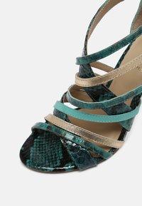 San Marina - NITORA MUSA - High heeled sandals - lagon - 2