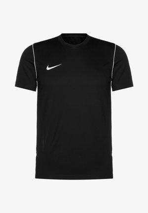 Basic T-shirt - black / white