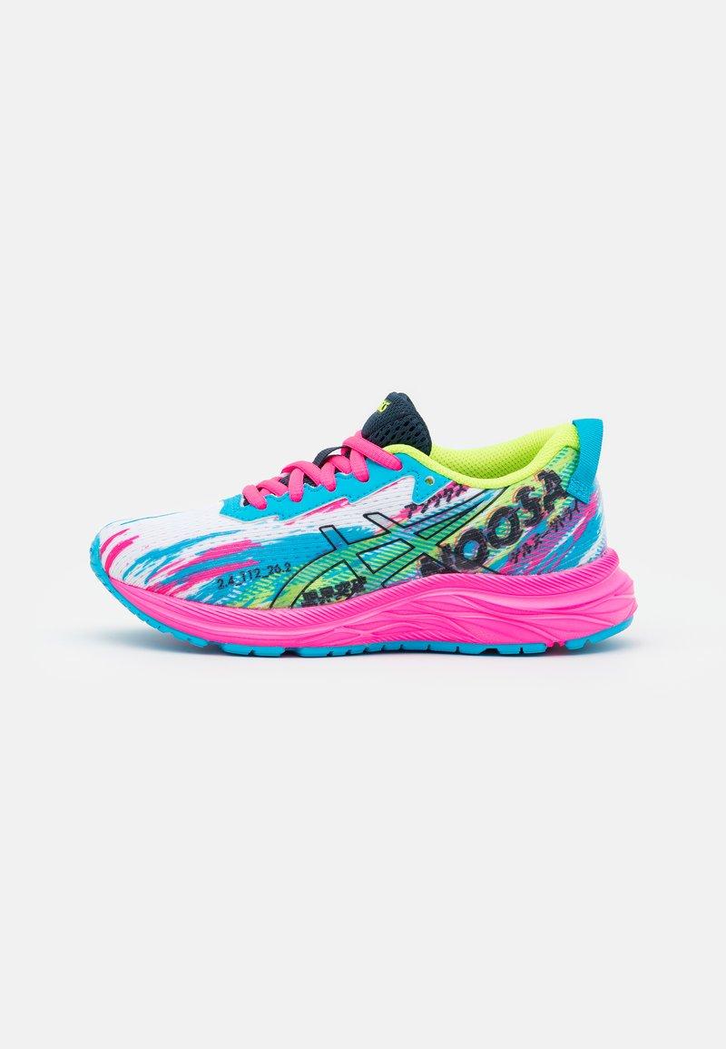 ASICS - GEL-NOOSA TRI 13 UNISEX - Competition running shoes - digital aqua/hot pink