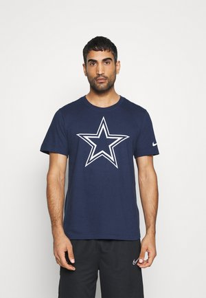 NFL DALLAS COWBOYS LOGO ESSENTIAL - Klubbklær - college navy