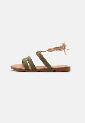 MARIA - Sandals - kaky/beige