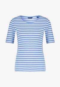 GANT - GANT DAMEN SHIRT KURZARM - Print T-shirt - blau - 0