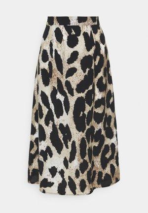 OBJLEONORA SKIRT - A-line skirt - sandshell