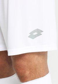 Lotto - SHORT DELTA - Short de sport - white - 5