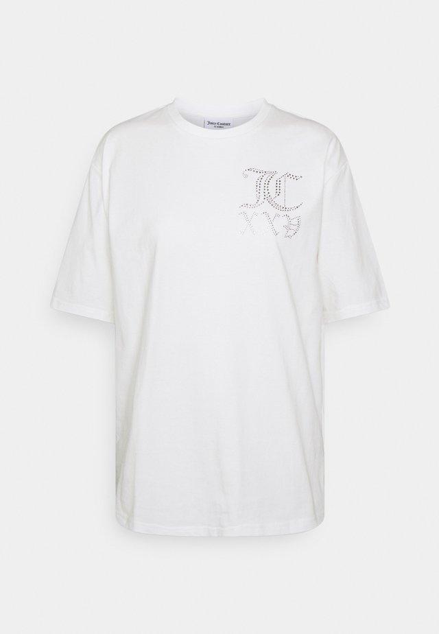 NUMERAL - T-shirt print - white