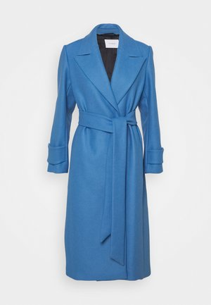 BELTED COAT - Manteau classique - allure blue