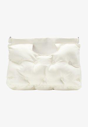 QUILTED BAG - Handbag - white