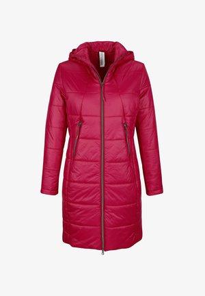 Winter coat - cyclam