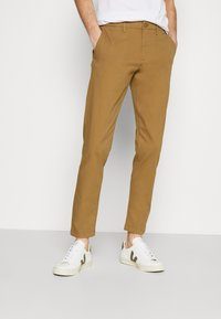 DOCKERS - SMART FLEX TAPERED - Pantalones chinos - ermine - 0