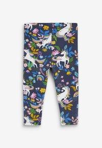 Next - PRINTED LEGGINGS - Leggings - Trousers - blue - 1