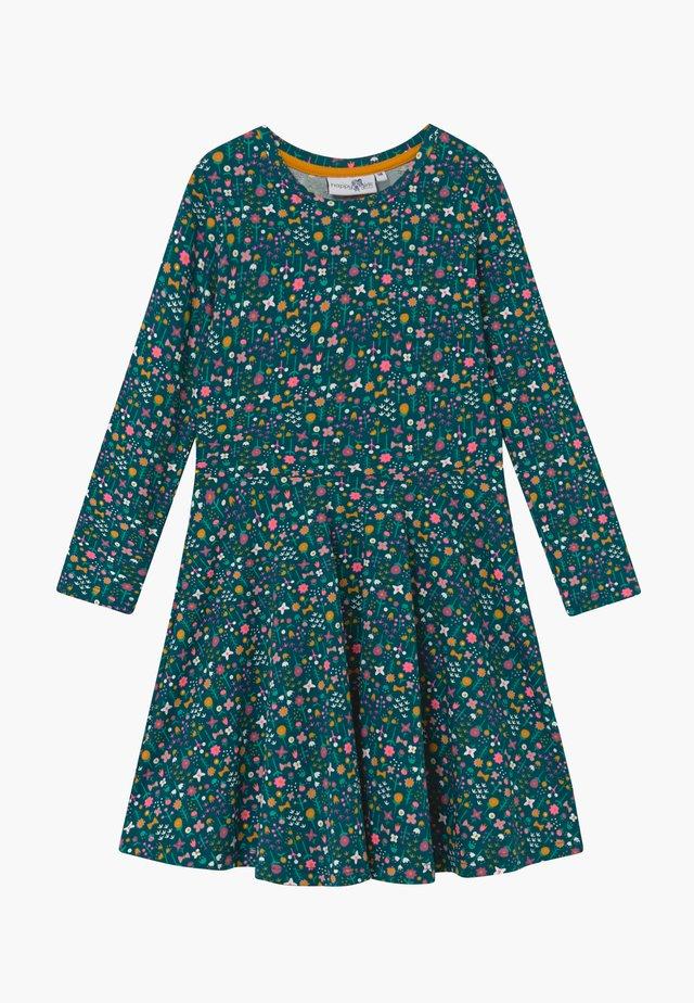 Jerseykleid - grün