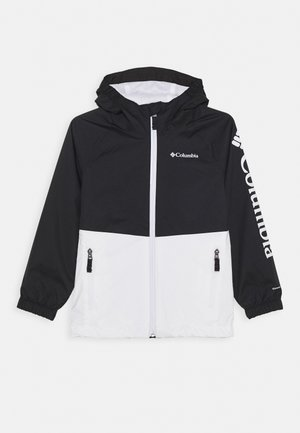 DALBY SPRINGS JACKET - Outdoor jacket - white/black