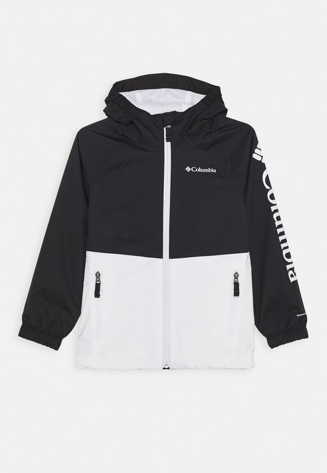 DALBY SPRINGS JACKET - Outdoor jacket - white/black