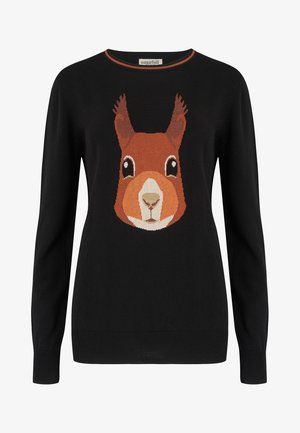 RITA SECRET SQUIRREL - Jumper - black