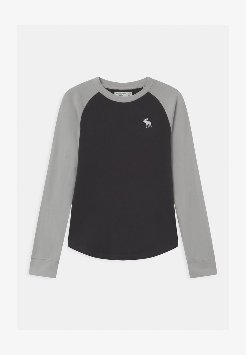 Abercrombie & Fitch - RAGLAN - Long sleeved top - grey body