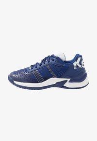 Kempa - ATTACK CONTENDER JUNIOR CAUTION - Handball shoes - midnight blue/white - 1