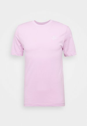 CLUB TEE - Basic T-shirt - light arctic pink/white