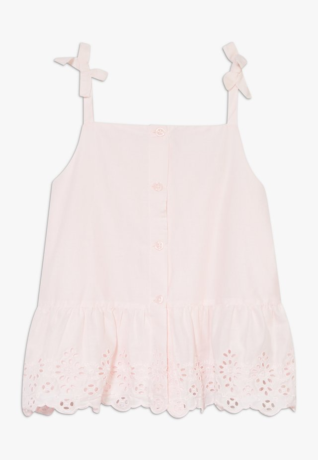 GIRL EYELET  - Blouse - cherry blossom