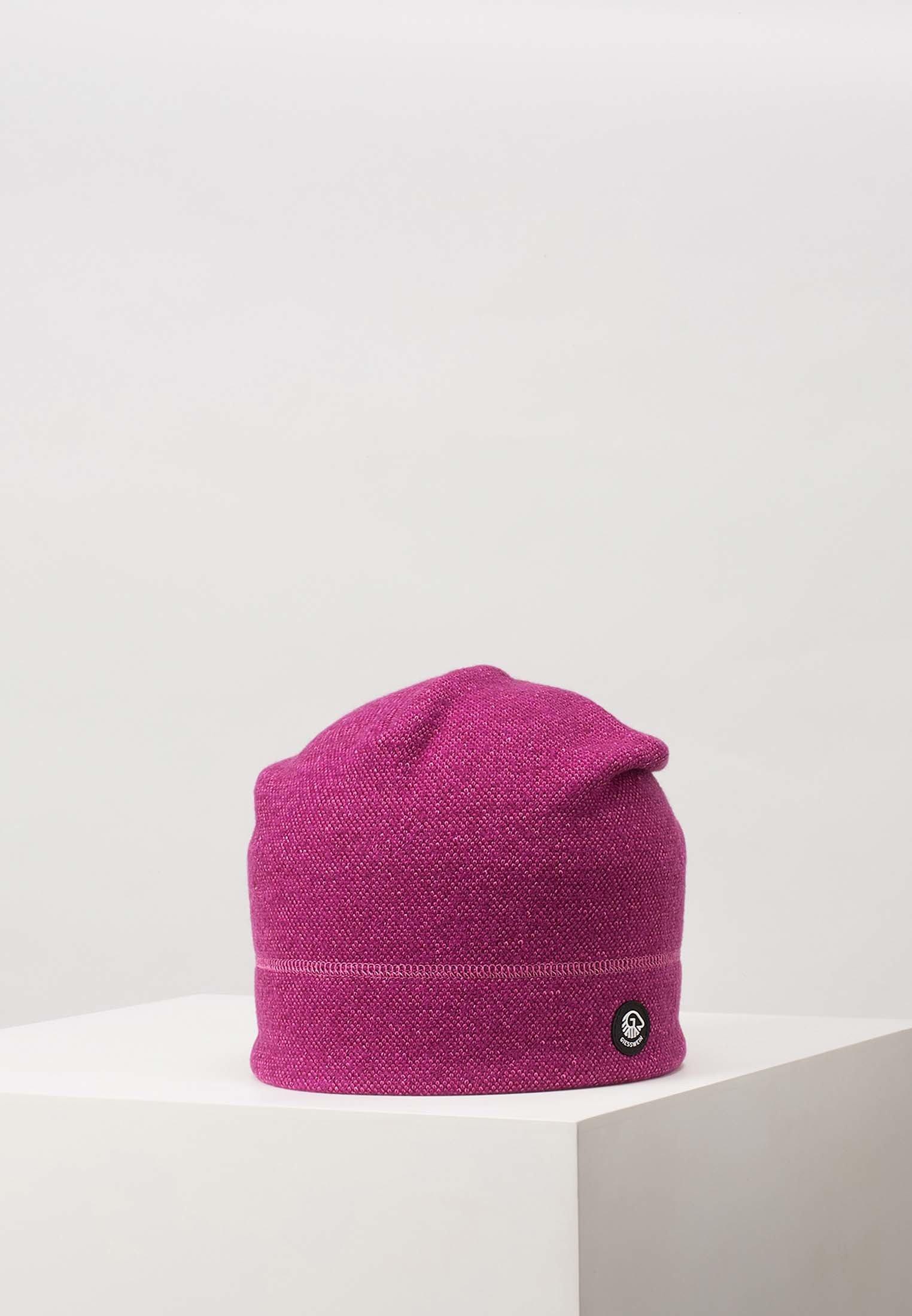 Giesswein Hohes Eis - Mütze Purple/lila