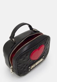 Love Moschino - CAMERA BAG BLACK EXCLUSIVE - Handbag - black - 3