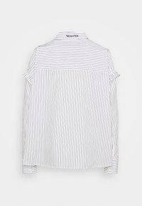 Scotch & Soda - CLEAN STRIPE POPOVER - Button-down blouse - white - 1