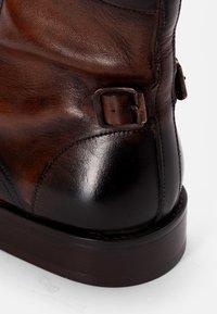 Hudson London - BRYDON - Snörstövletter - brown - 5