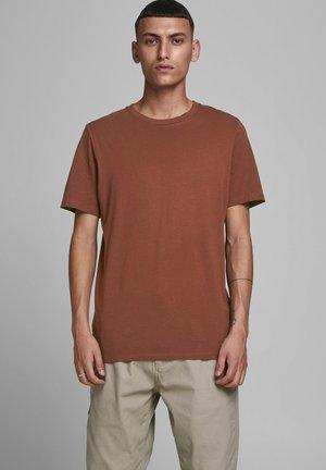 JJEORGANIC - Basic T-shirt - chocolate fondant