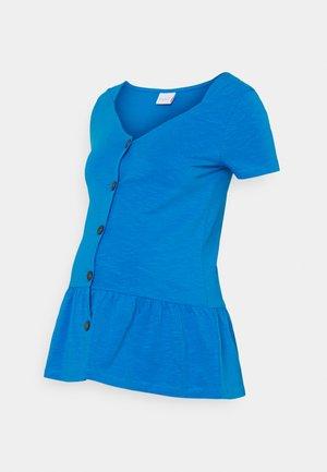 NURSING - T-shirt print - blue aster