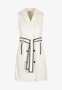 Morgan - Robe chemise - beige - 3