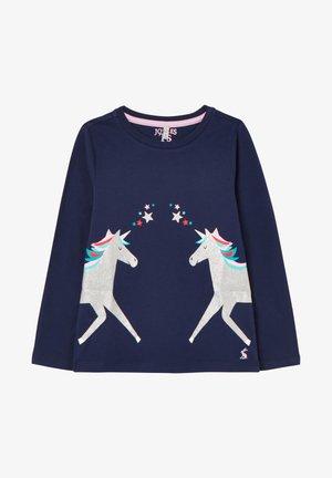 BESSIE - Langærmede T-shirts - marineblau
