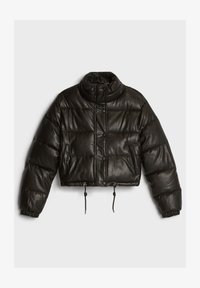 Bershka - Zimní bunda - black - 4