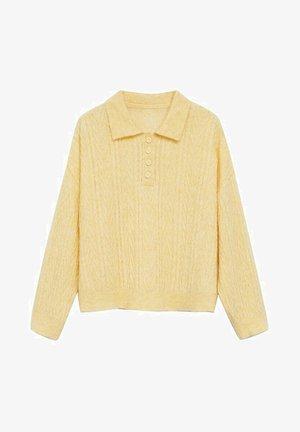 SAFARI - Pullover - jaune pastel