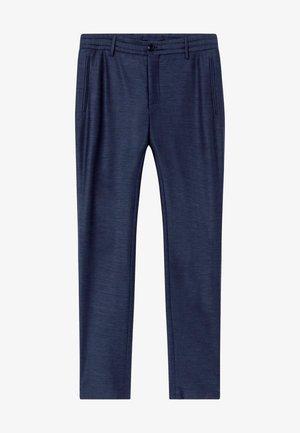 Trousers - denim blue