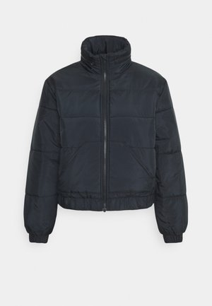 CROPPED PUFFER JACKET - Light jacket - black