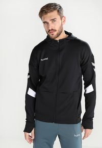 Hummel - TECH MOVE ZIP HOOD - Training jacket - black - 0