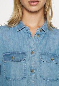 Superdry - TIERED DRESS - Jeanskjole / cowboykjoler - light indigo used - 5