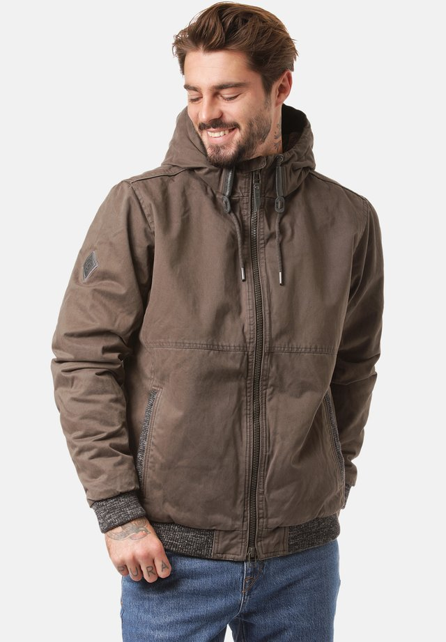 Winter jacket - black olive