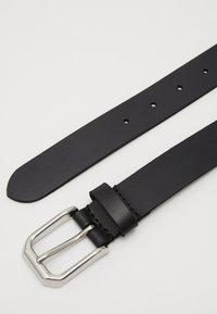 Zign - LEATHER - Pásek - black - 3