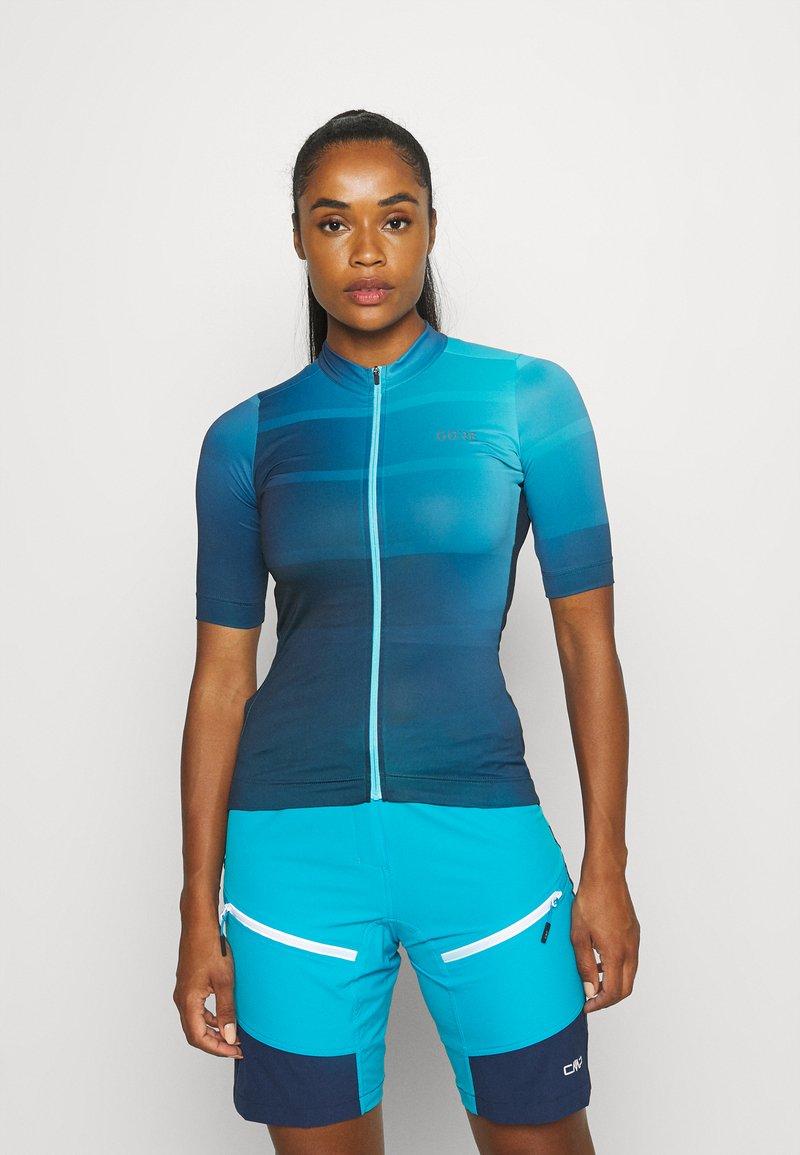 Gore Wear - WEAR FORCE WOMENS - Maillot de cycliste - scuba blue/orbit blue